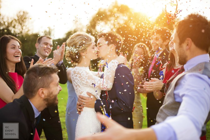 Working with couples as a certified wedding planner