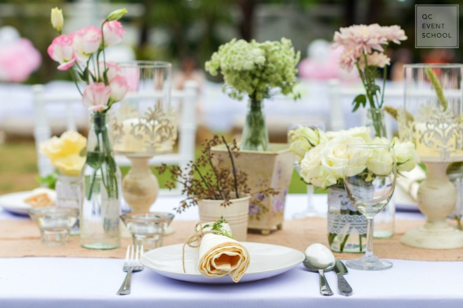 Styling weddings and events for high-end clients