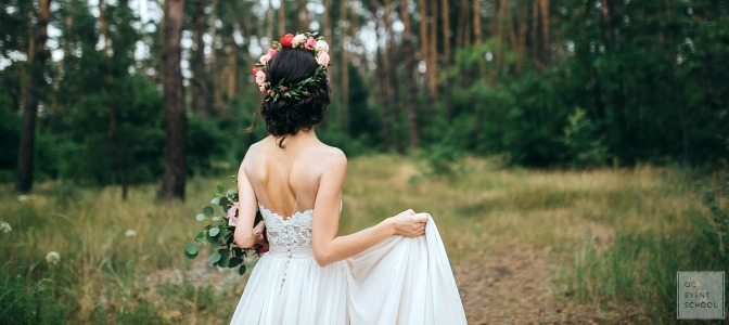 Wedding attire rules for professional event planners