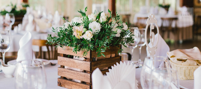 start your own event planning business table decor