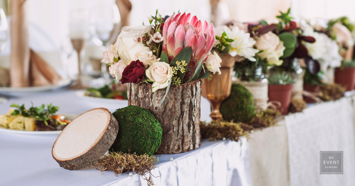 event decor by event planning business