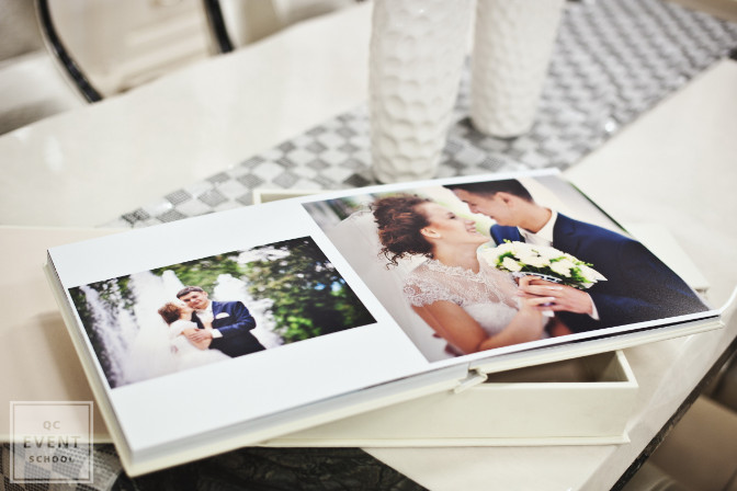 wedding photography for a wedding planner's portfolio