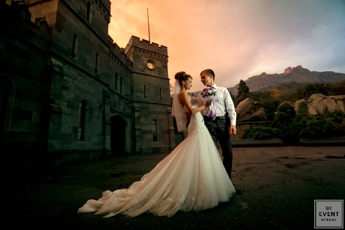 Unique wedding venue at castle