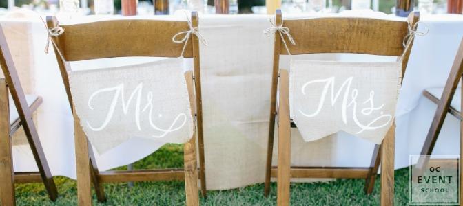 wedding decor arranged by certified wedding planner