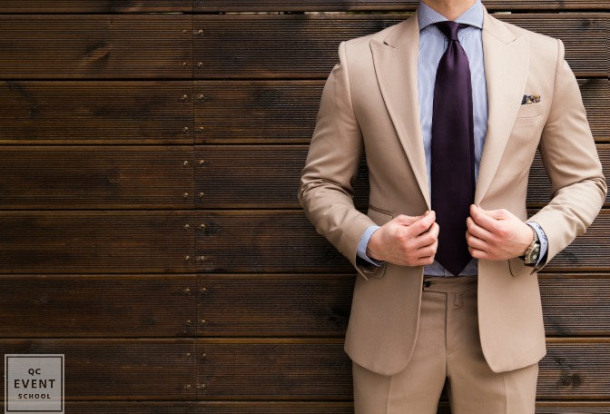 man in suit for even planning business