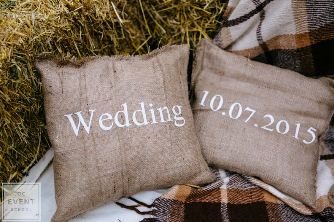 shabby chic decor DIY wedding
