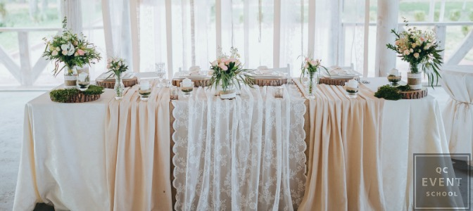 Pinterest wedding head table