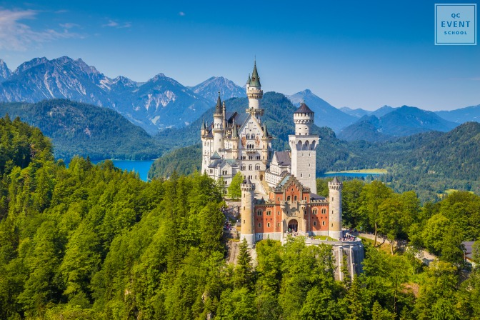 fairytale destination wedding Neuschwanstein Castle