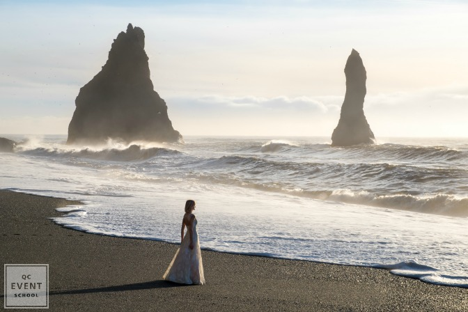 black sand beach iceland wedding photos destination