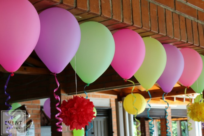 balloon decor for events