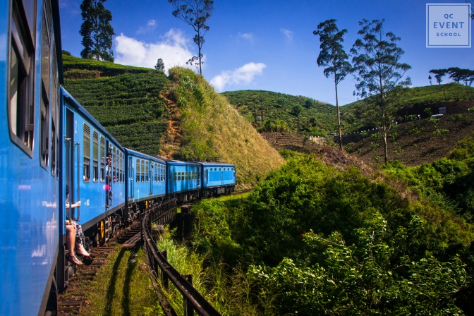 Nuwara Eliya, train in Sri Lanka to hill country for wedding