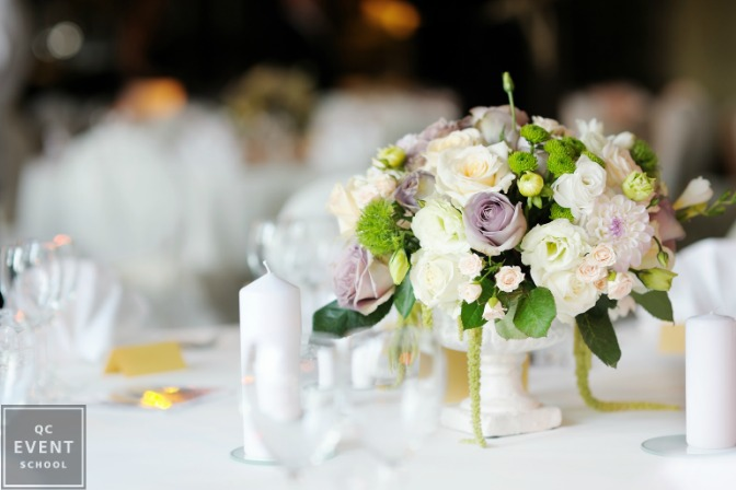 floral decor for events centerpiece