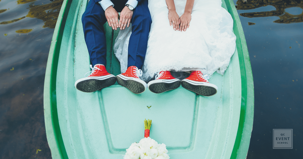 Wedding planning tips for the alternative couple on boat