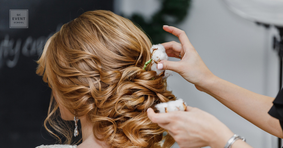 spring cleaning event planning business hair of bride