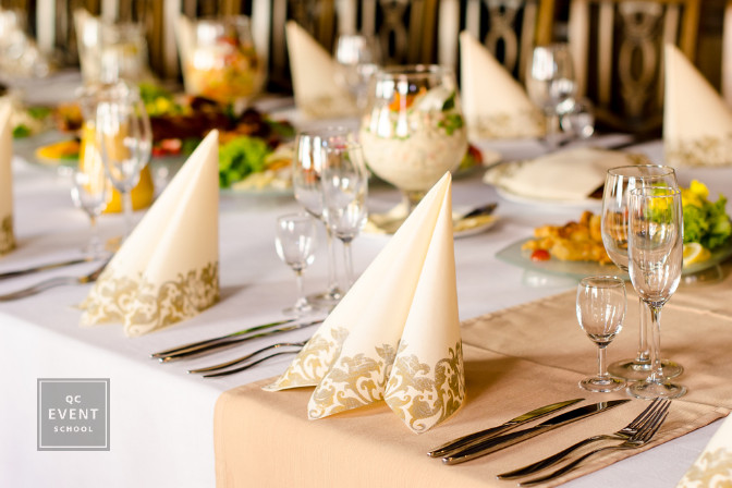 luxury tablescape for event planning course budget