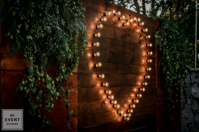 heart shaped lighting