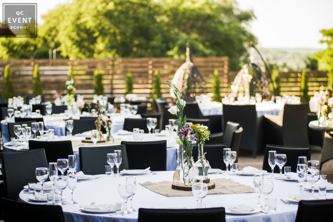 business banquet outdoor reception