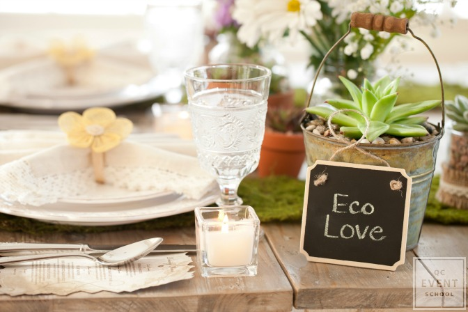 eco-friendly seating cards