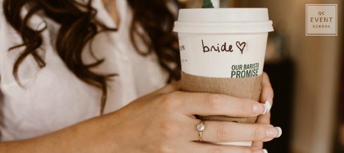 Bride plans her own wedding