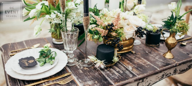 Decide whether to buy or rent your event decor for your event planning business