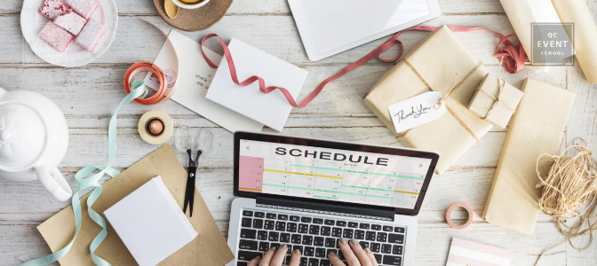 tips for event planners to become more productive