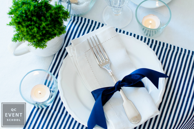 nautical themed event decor