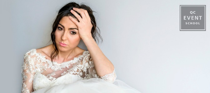 How to deal with wedding disaster for wedding planners