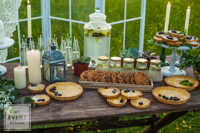Becoming an event planner event planning to make dessert tables