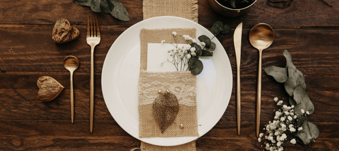 rustic wedding table decor