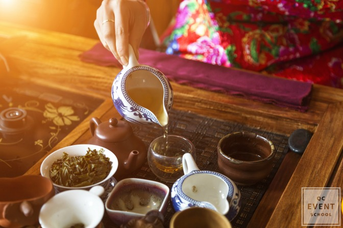 chinese tea ceremony event planning