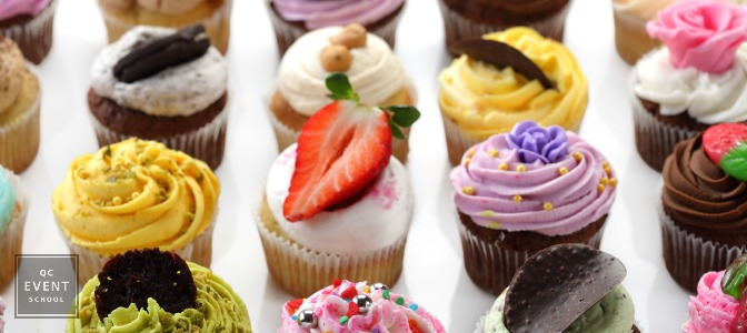 Cupcakes for social party