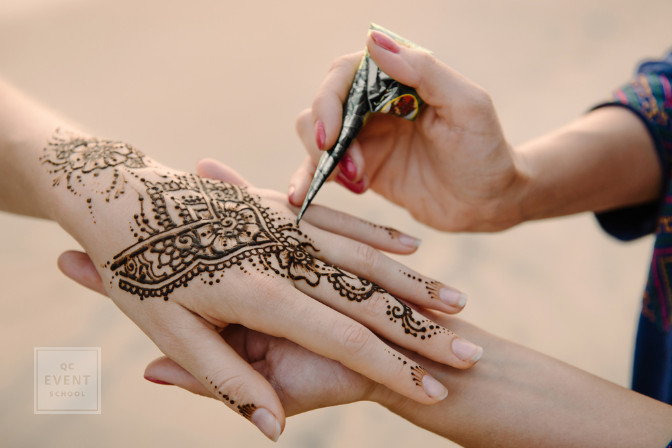 henna body art for cultural south asian and indian wedding planning