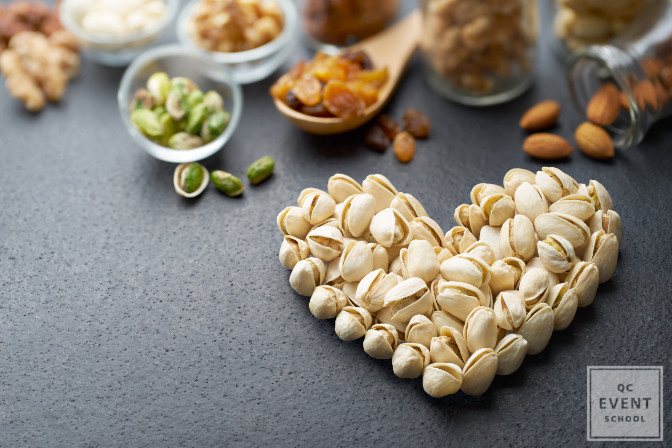 avoid shelled nuts because it's not easily accessible and potential allergies