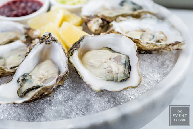 don't just serve shellfish as event attendees might have allergies
