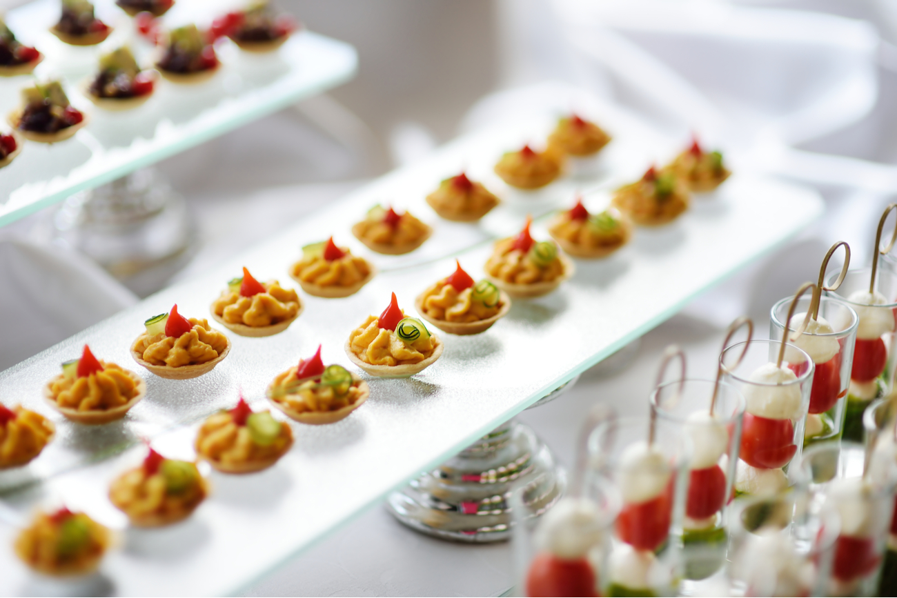 bad finger foods to serve at your planned events