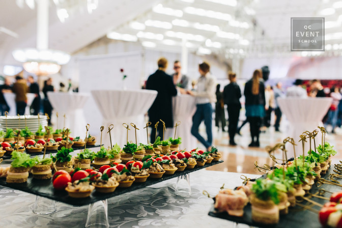 catering operations coordinator for a large corporate event