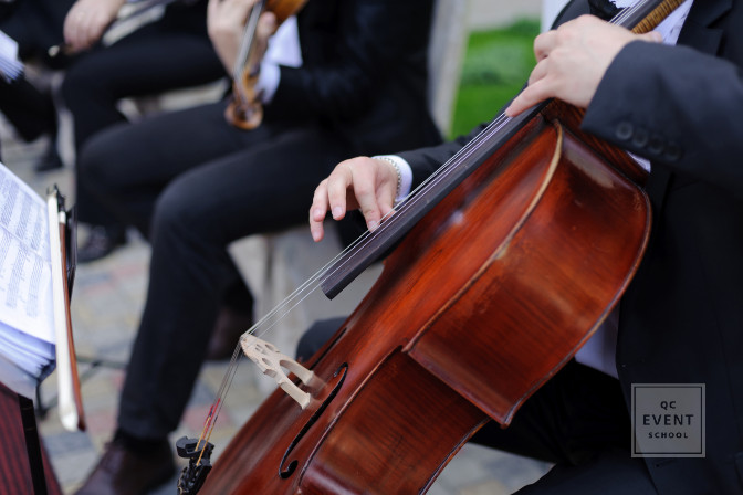 professional string musicians for entertainment hire at wedding and events