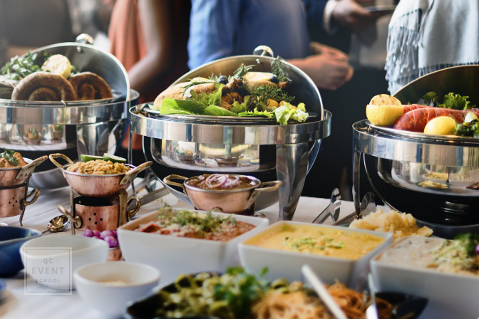 buffet catering service for career in event planning