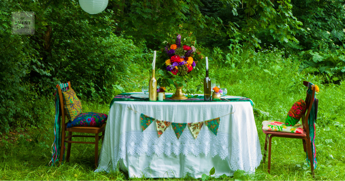 party planner career plans party in forest decor