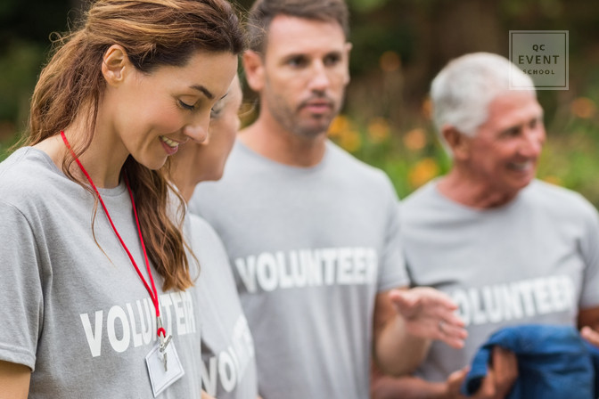 volunteer your corporate event planner experience