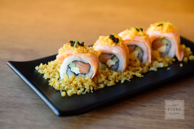sushi event catering coordinator experience