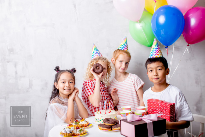 kids birthday party planned by a professional party planner