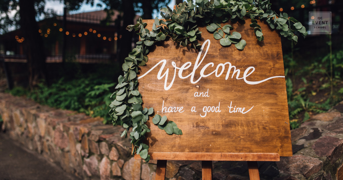 welcome to event sign - how to become a certified event planner
