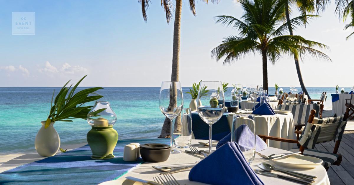 destination wedding planning outdoor reception for cheap