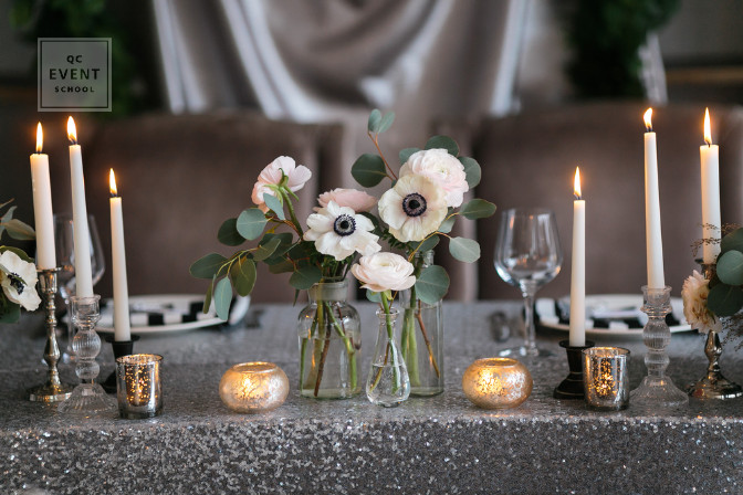 Tablescape event planning and party planning event decor