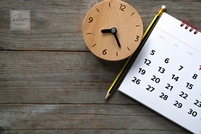 time management for event planner