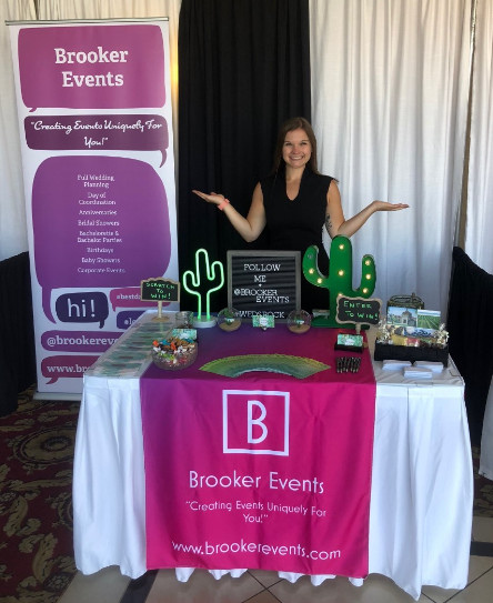 brooke nauta of Brooker Events - QC Event School graduate