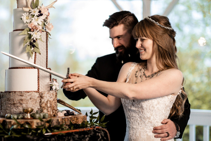 viking themed wedding - wedding planning and event design by Cherry Creek Events