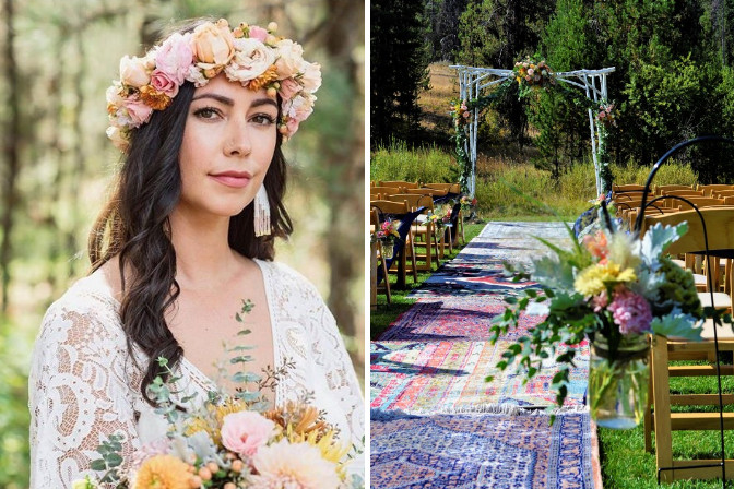 boho country wedding by Cherry Creek Events