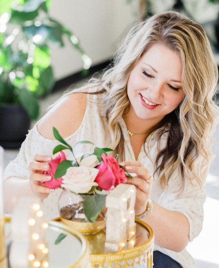 Jenna Pelcher - QC Event School graduate - professional wedding planner